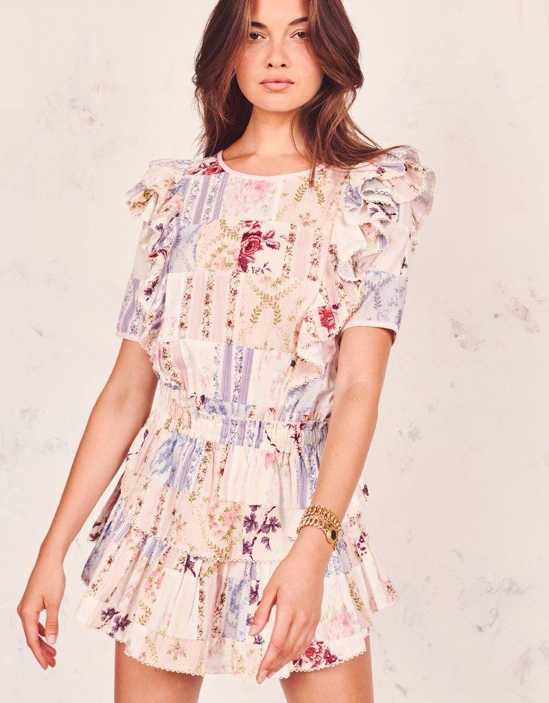 LOVESHACKFANCY Natasha Dress Multi