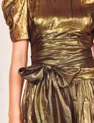 LOVESHACKFANCY Mercy Dress ~ Gold