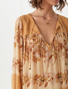 SPELL & THE GYPSY Coco Lei Blouse Carmel