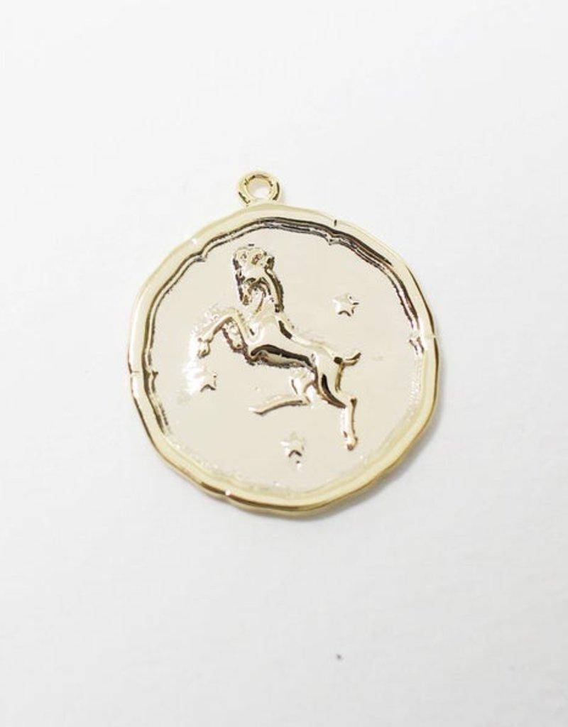 Twiga Zodiac Coin Pendants