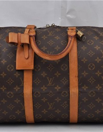 LOUIS VUITTON Vintage Monogram Keepall 55