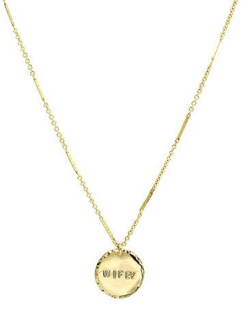 "PARADIGM DESIGNS ""Wifey"" necklace"