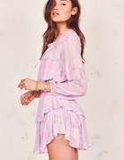 LOVESHACKFANCY Popover Dress - Hibiscus