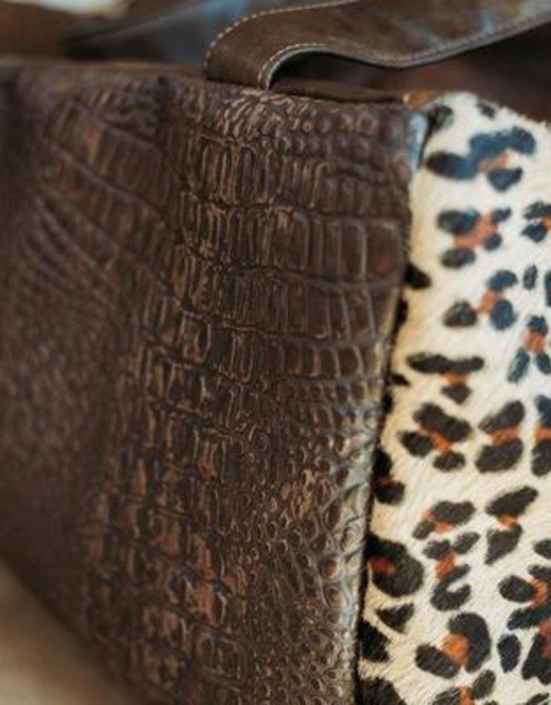 SHAKE YOUR BON BON Leopard Love Duffle