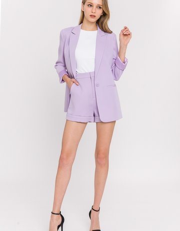 SHAKE YOUR BON BON Laissez Lilac Short