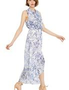 MISA Audra Dress ~ Peacock