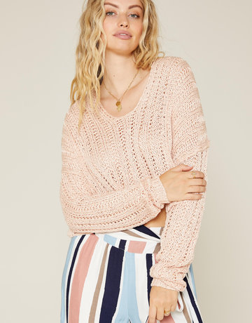 SHAKE YOUR BON BON Blushing over this Sweater