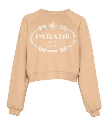 SCHNELL STUDIO Devil Wears Parade Sweatshirt