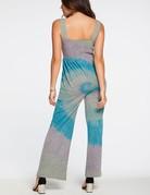 CHASER Rainbow Swirl Jumpsuit