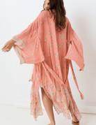 SPELL & THE GYPSY Hendrix Robe - Dusty Pink