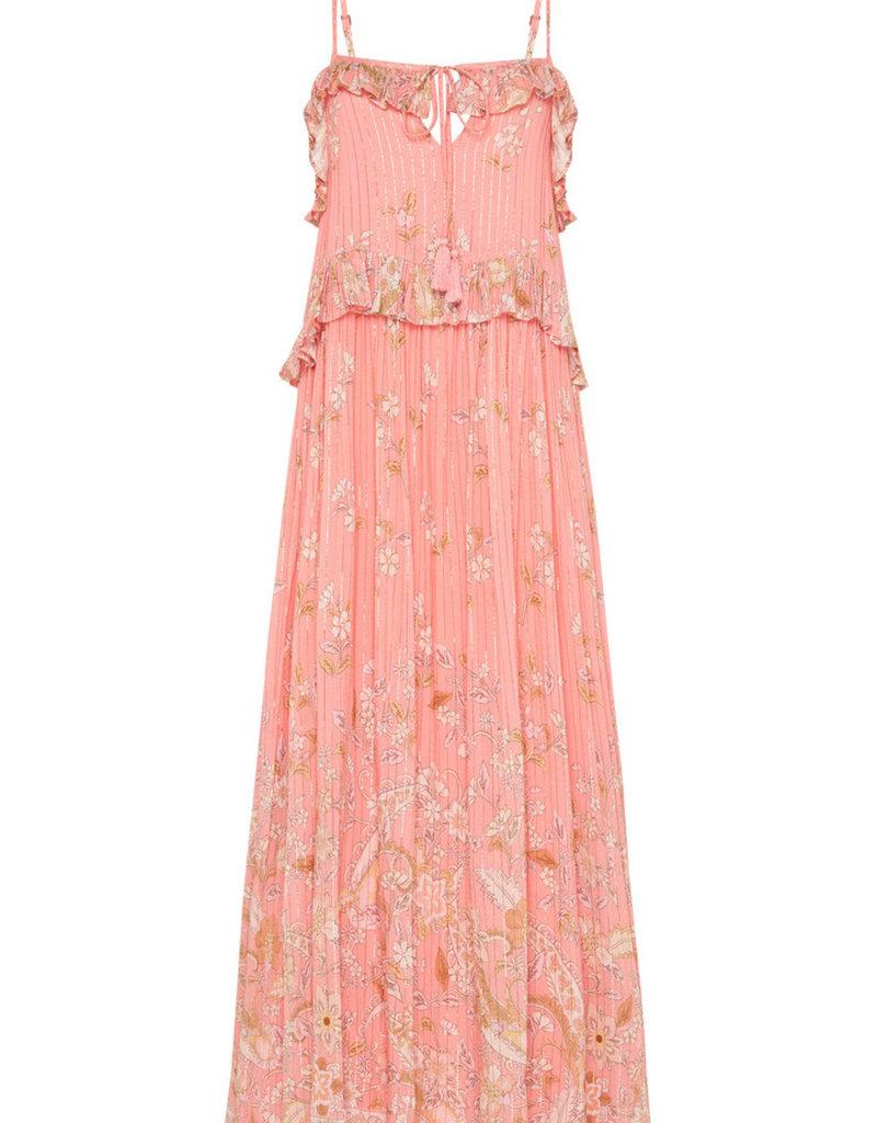 SPELL & THE GYPSY Hendrix Strappy Maxi Dress - Dusty Pink
