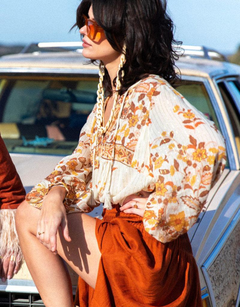 SPELL & THE GYPSY Hendrix Blouse - Cream