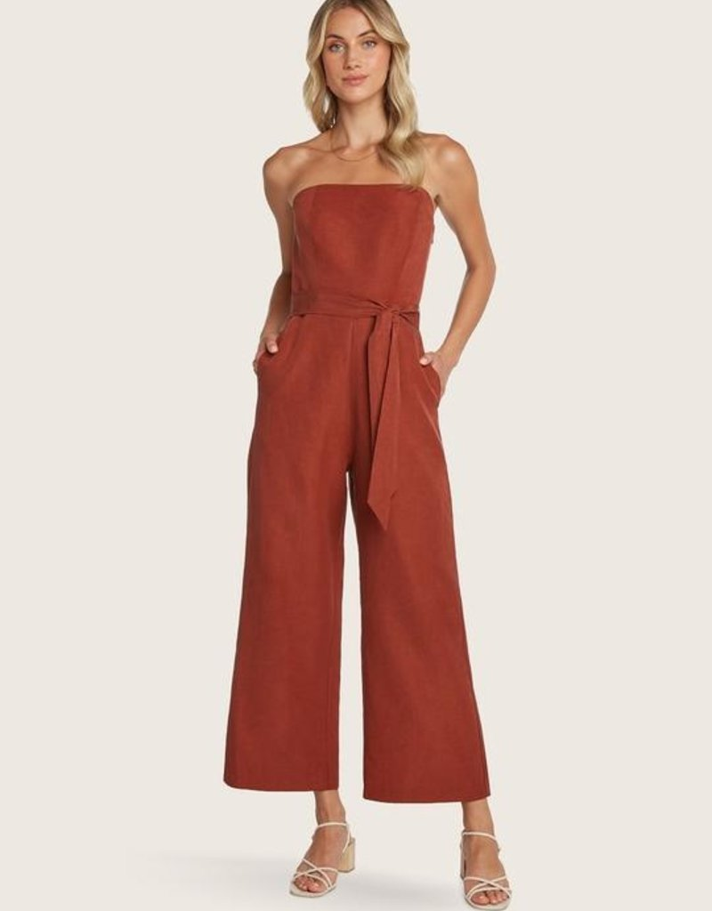 WILLOW Ryan Jumpsuit - Clay