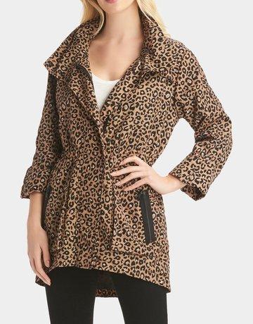 TART Cory Rain Jacket - Warm Leopard