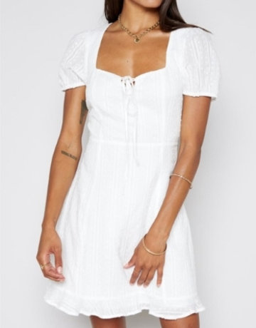 SHAKE YOUR BON BON Beyond The Sea Dress - White