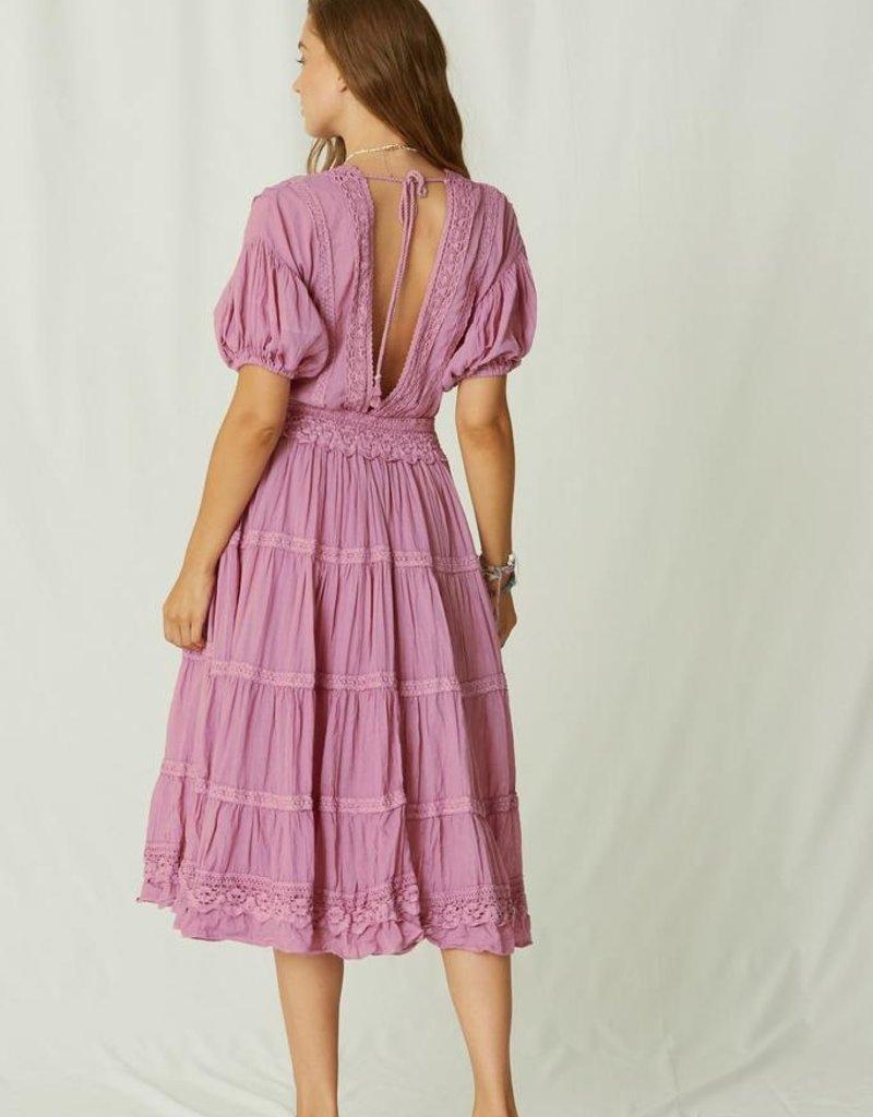 JENS PIRATE BOOTY Belezura Dress - Dried Roses