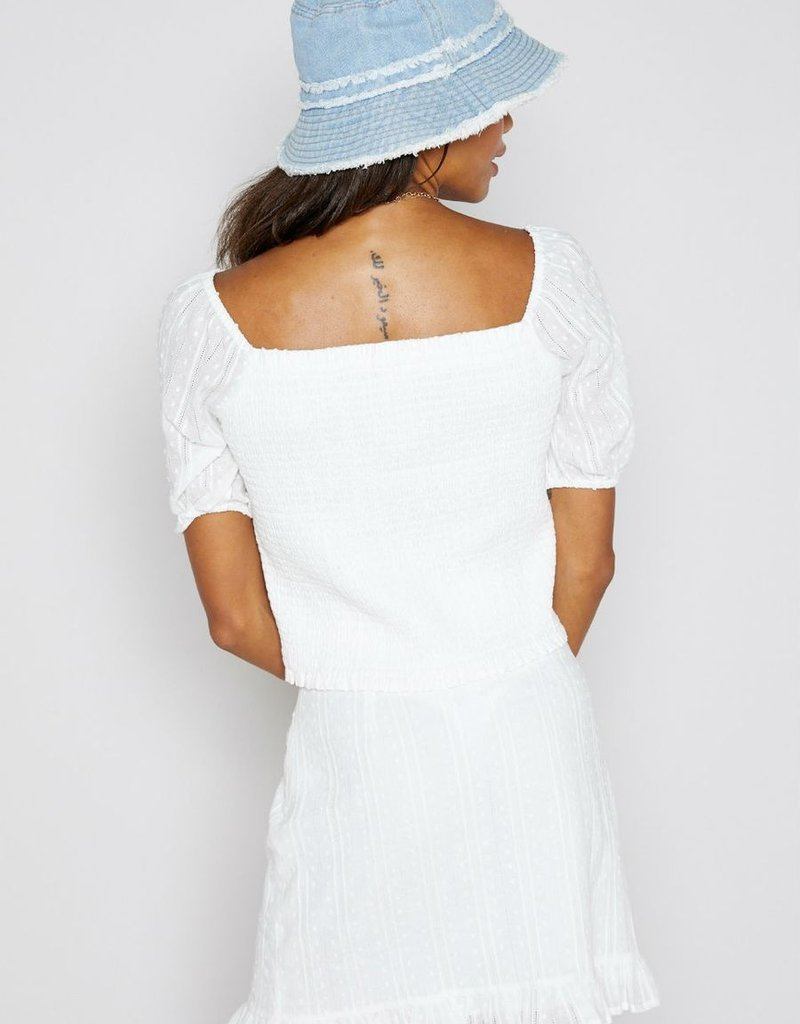 SHAKE YOUR BON BON Beyond The Sea Mini Skirt - White