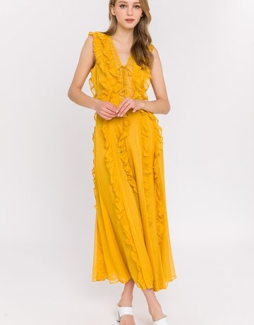 SHAKE YOUR BON BON Walkin On Sunshine Maxi Dress