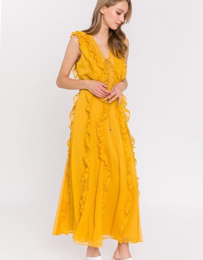 SHAKE YOUR BON BON Walkin On Sunshine Maxi Dress