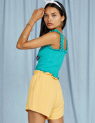 SAGE THE LABEL Loewy Top  - Seafoam