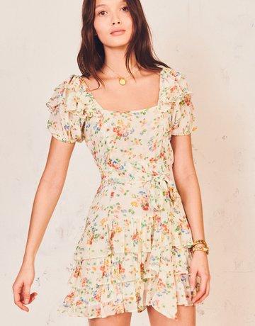 LOVESHACKFANCY Kimbra Dress - Floral Confetti