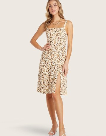 WILLOW Heather Dress - Lemon