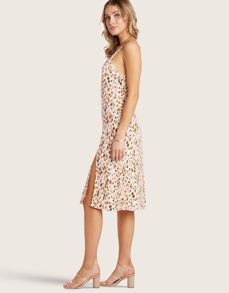 WILLOW Heather Dress - Lemon