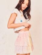 LOVESHACKFANCY Tully Skirt - Tie Dye