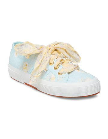 LOVESHACKFANCY Superga x LoveShackFancy Women's Classic Sneaker - Blue Bird