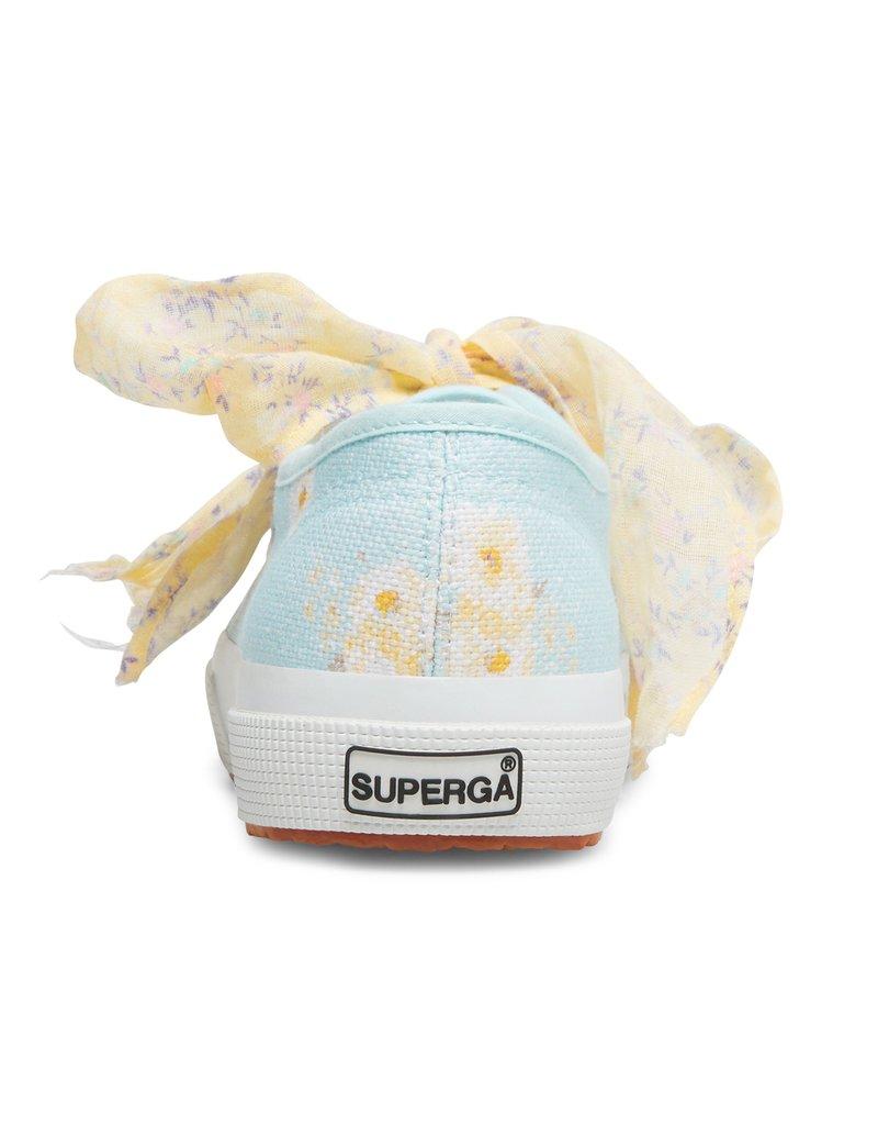LOVESHACKFANCY Superga x LoveShackFancy Women's Classic Sneaker - Blue Bird