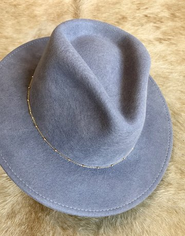 VAN PALMA Lou Hat - Light Grey