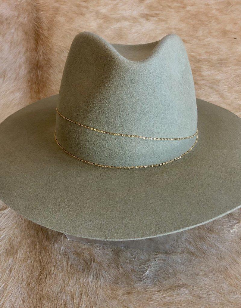 VAN PALMA Lucia Hat - Khaki