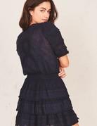 LOVESHACKFANCY Quincy Dress - Navy
