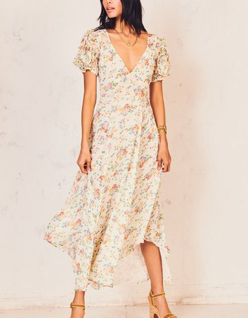 LOVESHACKFANCY Clemence Dress - Floral Confetti