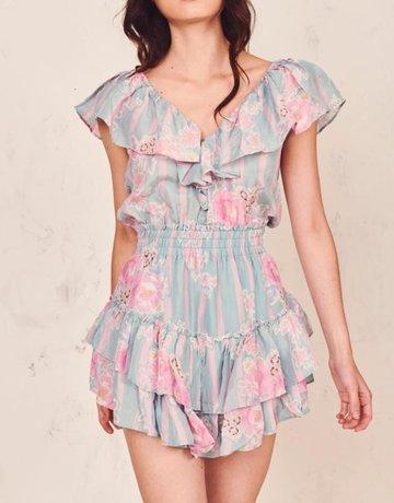LOVESHACKFANCY Dessie Dress - Moss