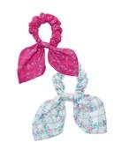 LOVESHACKFANCY Gauze Swim Multi Scrunchie - Pink