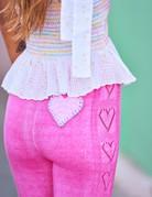 LOVESHACKFANCY Toro Pant  - Quartz Pink