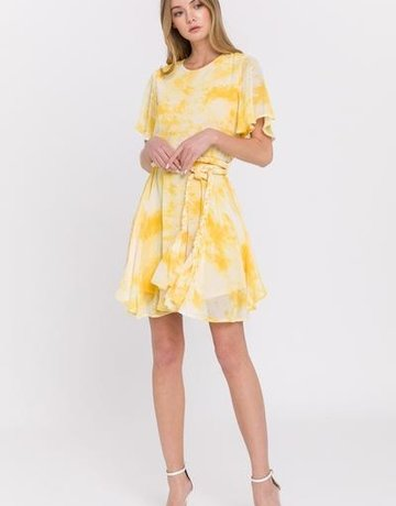 SHAKE YOUR BON BON Mellow Yellow Mini Dress