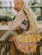 SPELL & THE GYPSY Portobello Road Long Sleeve Playdress - Honey Dew