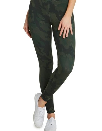 SHAKE YOUR BON BON Camo Legging - Olive