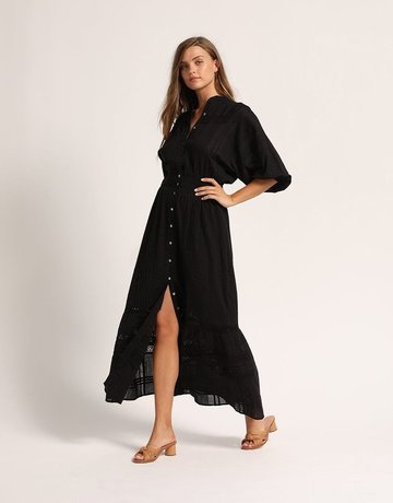 CLEOBELLA Bijou Midi Dress - Black