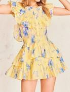 LOVESHACKFANCY Fatima Dress - Sunshower Garden