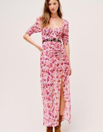 FOR LOVE AND LEMONS Evie Maxi Dress - Tearose
