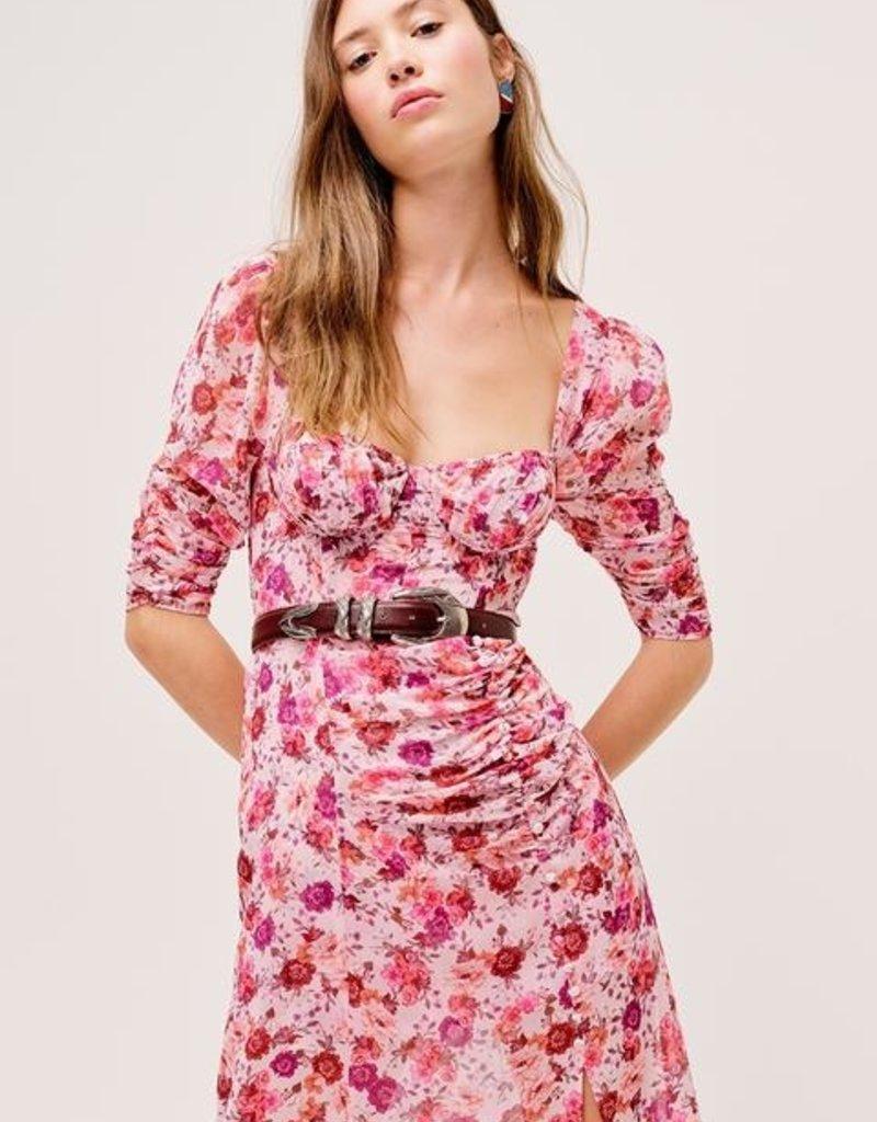 FOR LOVE AND LEMONS Evie Maxi Dress - Tearose