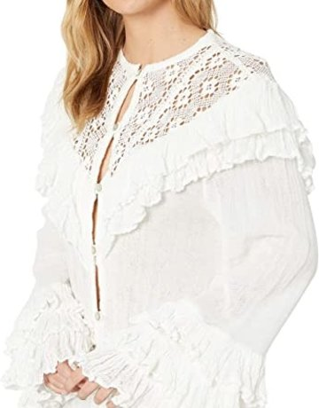 JENS PIRATE BOOTY Idelle Top - White