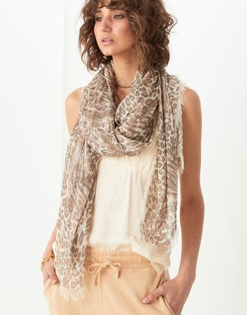 SPELL & THE GYPSY Ada Travel Scarf - Leopard