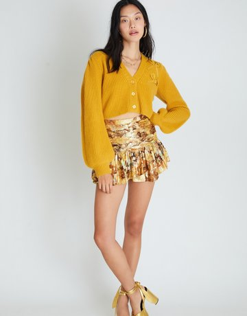 LOVESHACKFANCY Moe Skirt - Sun Shower