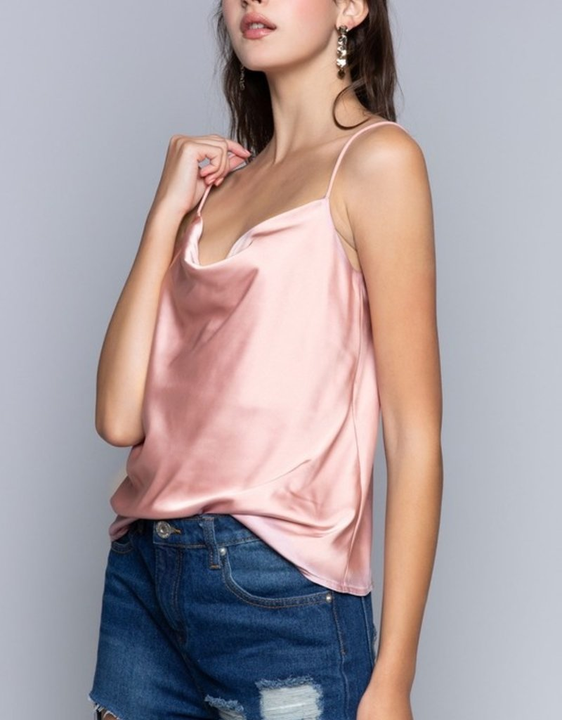 SHAKE YOUR BON BON Girls Night Out Cami - Pink Champagne
