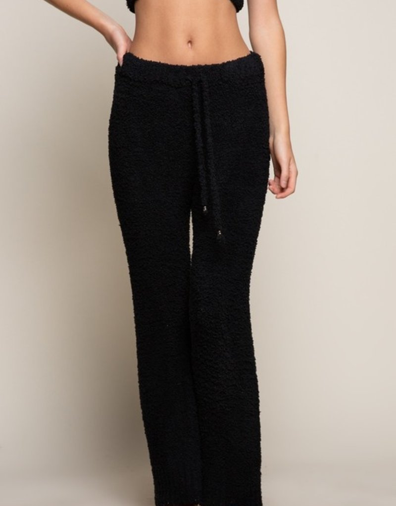 SHAKE YOUR BON BON Cozy Wozy Pants - Black