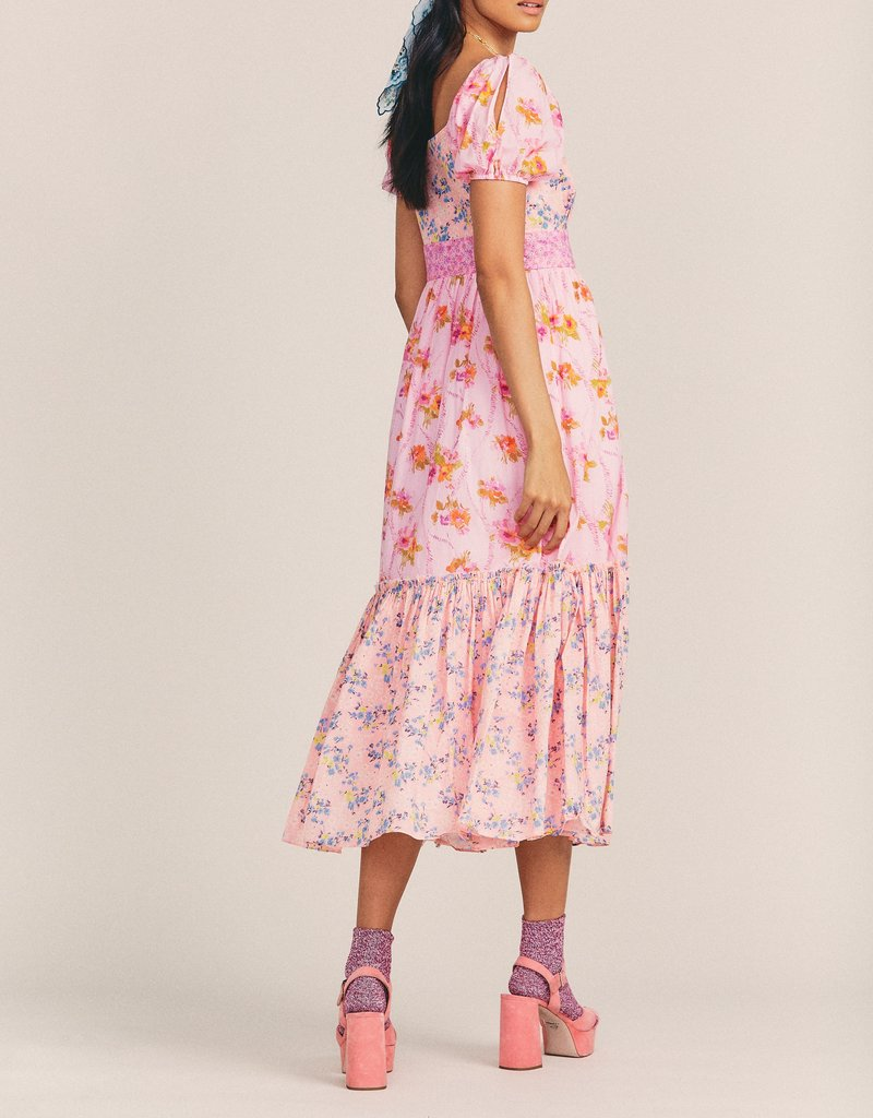 LOVESHACKFANCY Angie Dress - Exploded Pink